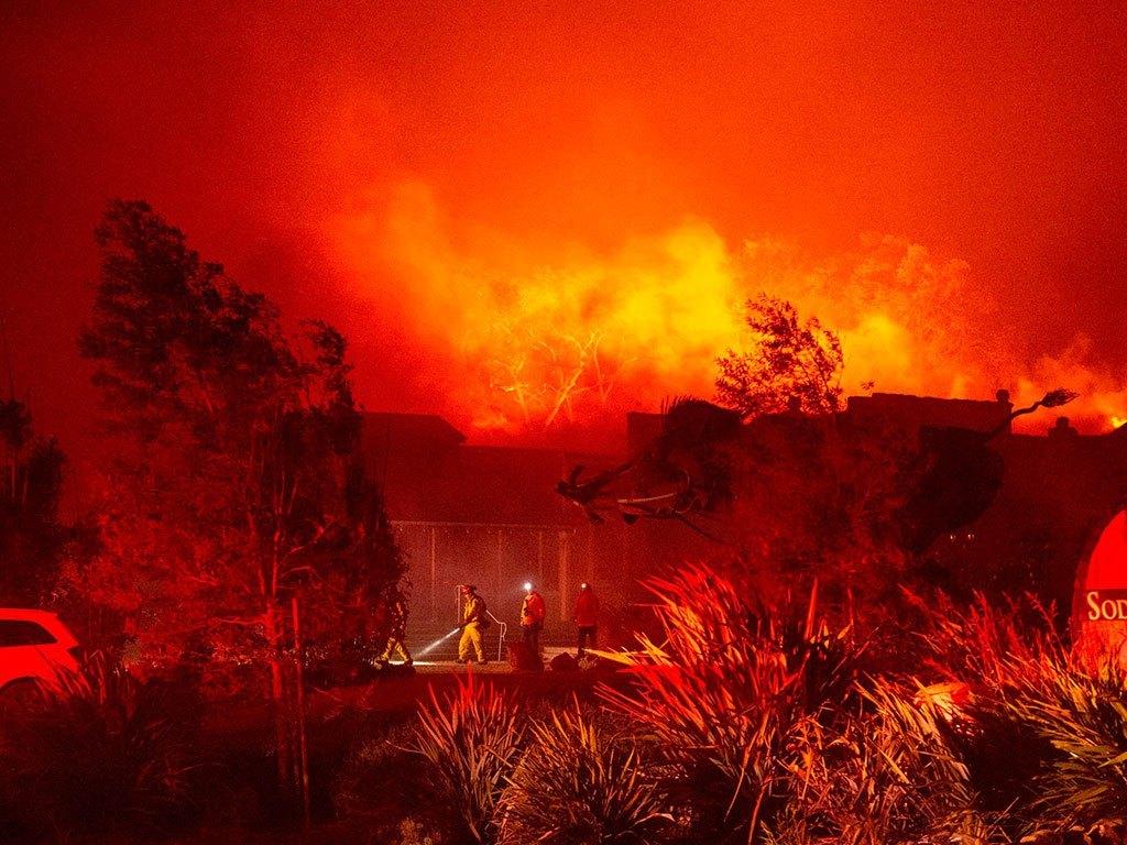 कोरोना महामरीकोबिचमा अमेरिकाको क्यालिफोर्निया फेरी अर्को विपत