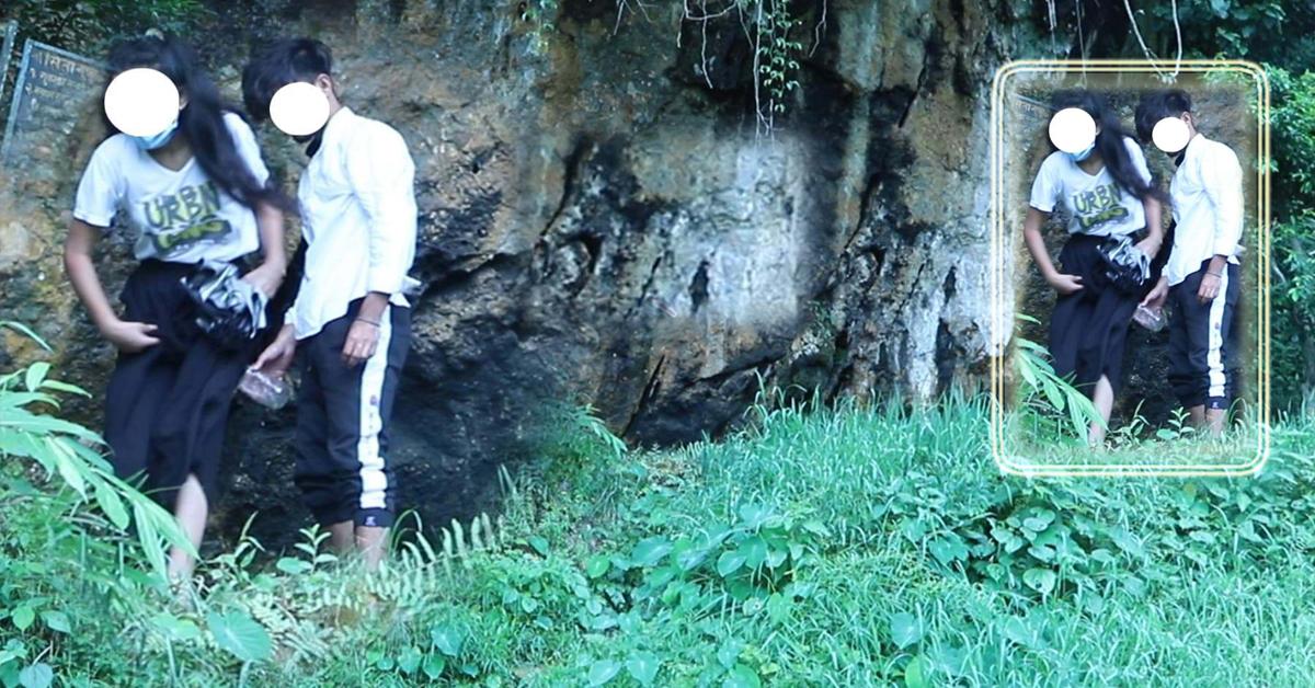 पोखराको सीता गुफामा अपवित्र कामः यस्ता अबस्थामा भेटिए युवा-युवती [भिडियोसहित]