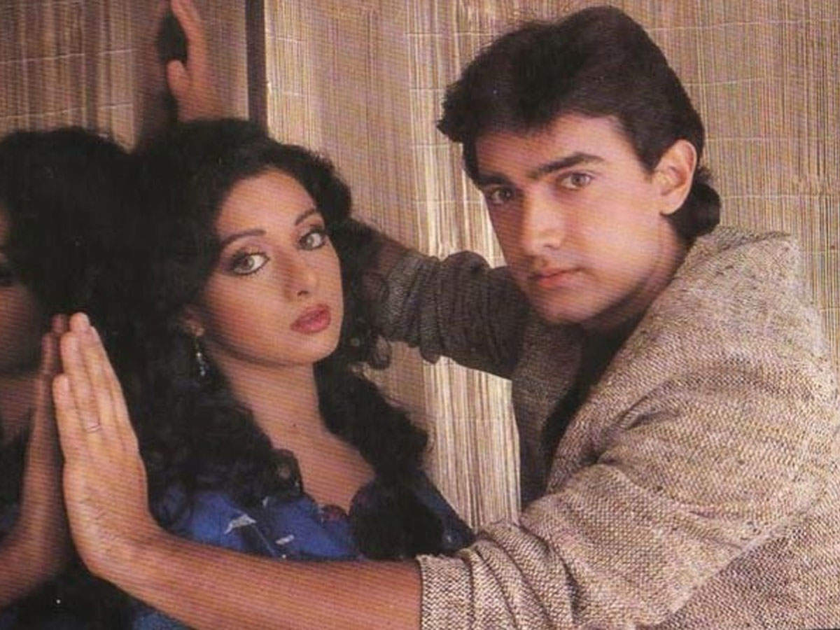 श्रीदेवीको आँखा यस कारण हेर्नै सक्दैनथे आमिर खान