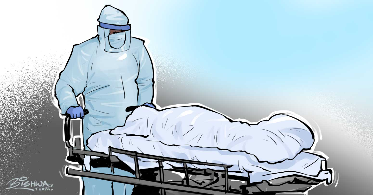 कास्कीमा कोरोनाबाट थप एक जनाको मृत्यु, ३० संक्रमित थपिए
