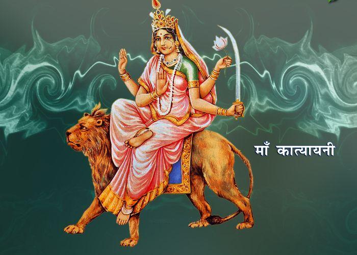 नवरात्रको छैटौं दिन आज कात्यायनी देवीको पूजा आराधना गरी मनाईंदै…