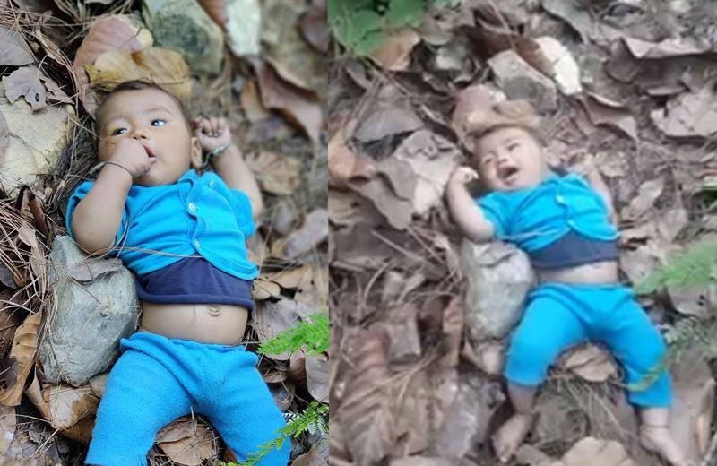 अवैध सम्बन्धबाट जन्मिएको शिशु जंगलमा फाल्ने आमासहित दुई पक्राउ