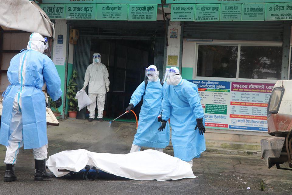पोखरामा एकैदिन कोरोनाबाट थप ७ जनाको मृत्यु