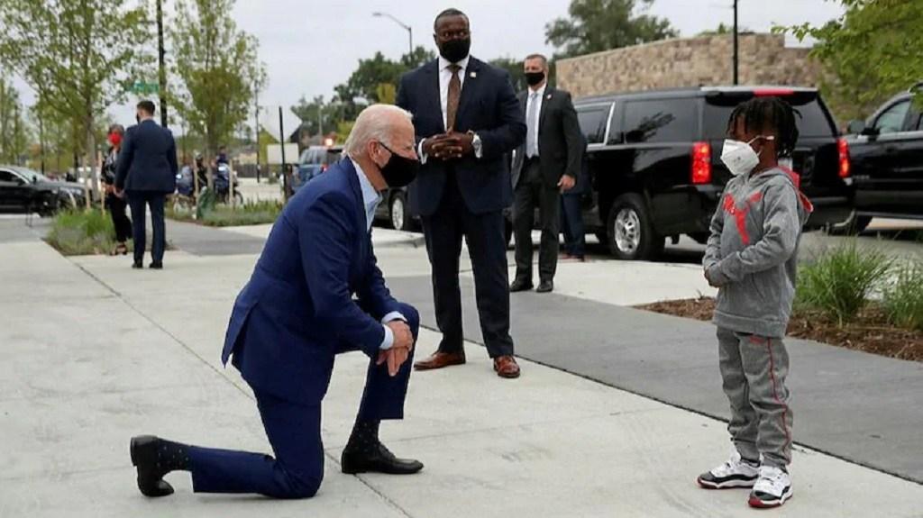 अमेरिकी राष्ट्रपति बाइडेन र बालकको फोटोको गलत प्रचार, यस्तो छ बास्ताविकता