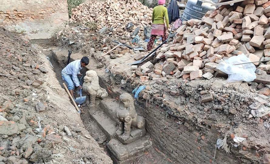 जग्गा मिचेर जग खन्दा मन्दिरको संरचना भेटियो