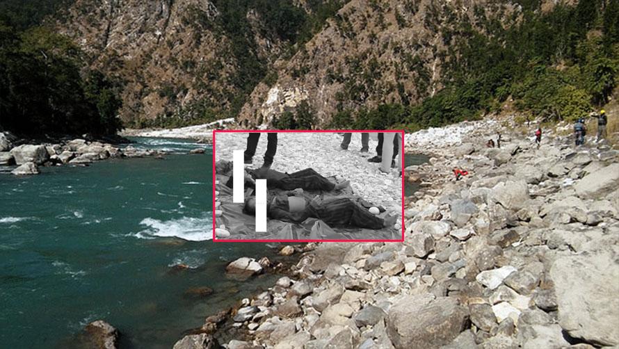 हात बाँधेको अवस्थामा कर्णाली नदीमा भेटियो दुई दिदी बहिनीको 'शव'