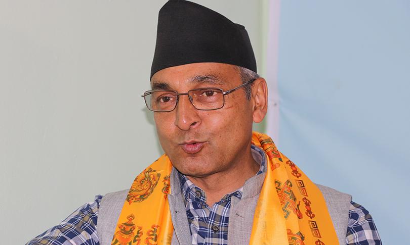 माधव नेपाललाई एमालेमा स्वागत छ- रायमाझी