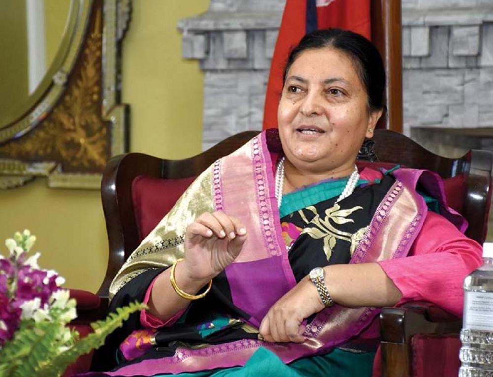 राष्ट्रपतिद्धारा गण्डकीमा सीता पौडेल प्रदेश प्रमुखमा नियुक्त
