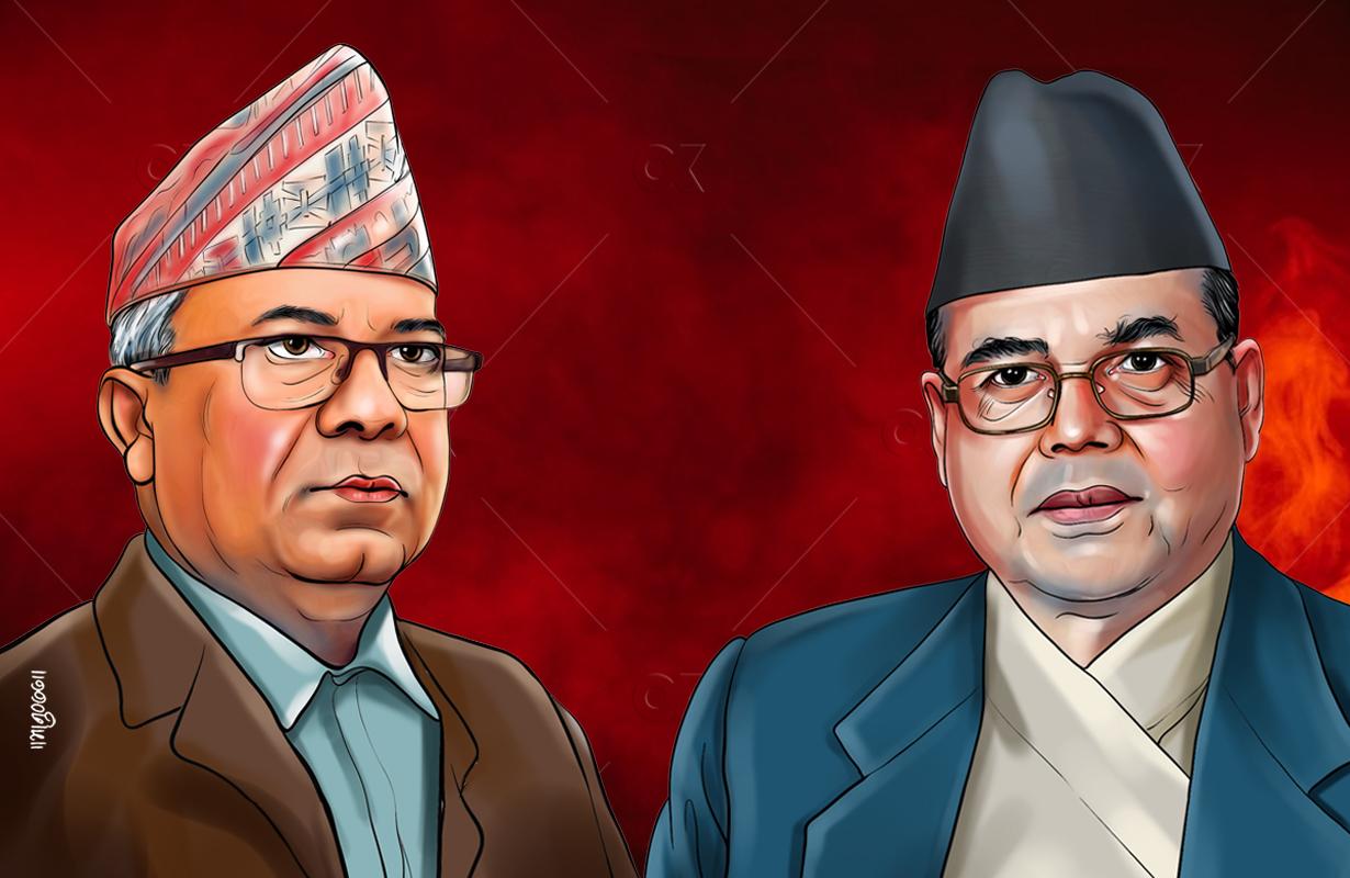 बैठकमा नजाने, राजीनामा पनि नदिने माधव नेपाल पक्षको निर्णय