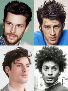 Model Rambut Pria dengan Wajah Segitiga yang Elegan