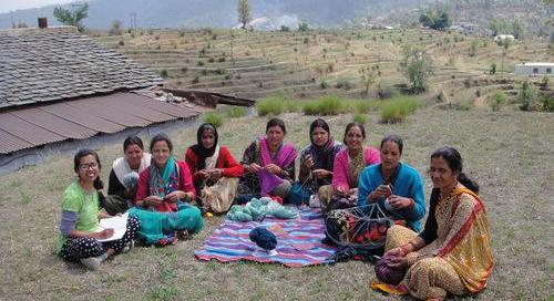 Handicrafts from the foothills of Himalaya empowering women
