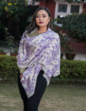 Best Cashmere Printed Scarf