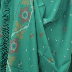 Designer Marino Wool Shawl HandWoven Kullu Handloom
