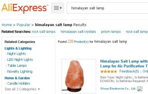 Where to buy himalayan salt lamp online AliExpress