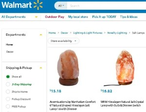 Where to buy himalayan salt lamp online Walmart