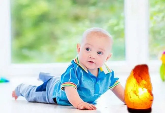 Are Himalayan Salt Lamps Safe for Babies
