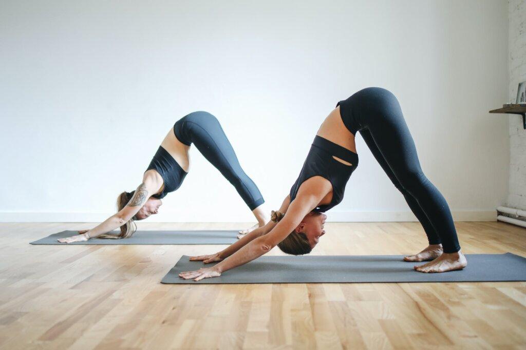 two-girls-doing-yoga