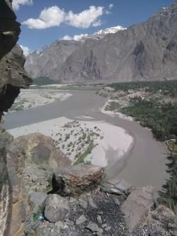 View from Kharpocho Fort Trek