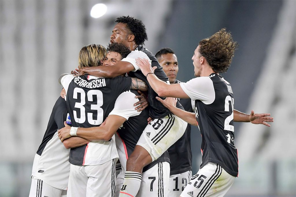 Juventus champion for the ninth consecutive time
