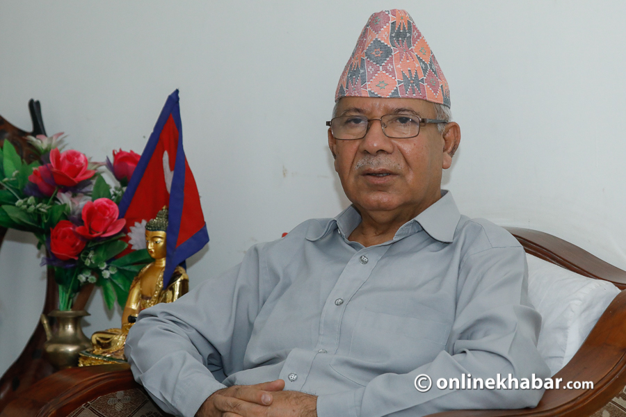 Immediately reverse the decision not to treat Corona-infected for free: Madhav Nepal