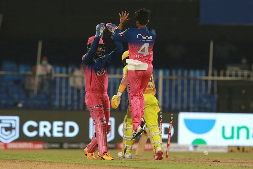 Rajasthan made a brilliant start by defeating Chennai by 16 runs