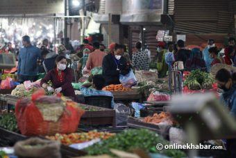 Sale of vegetables also increased in Kalimati market due to demonetisation