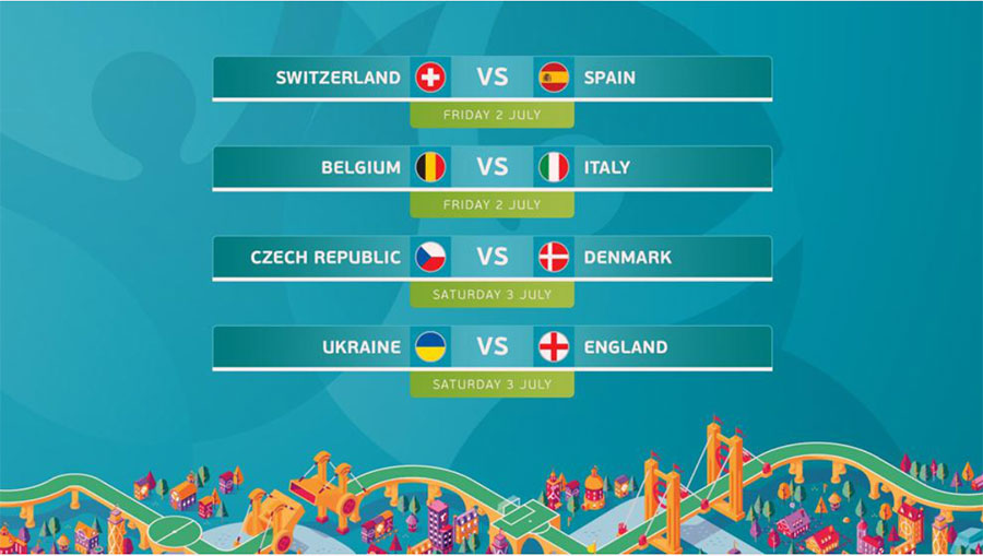 Euro Cup 2020: Quarterfill game starts from today