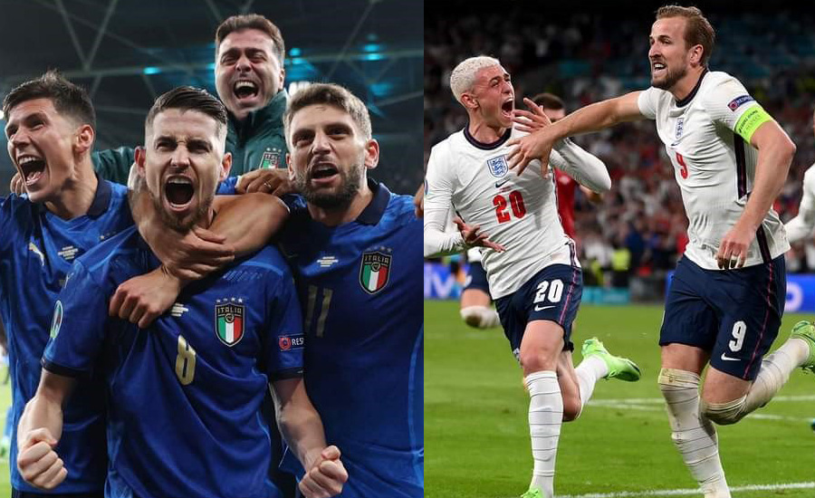 Italy and England travel to Euro Cup final