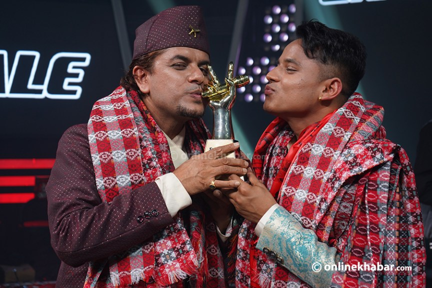 Kiran Gajmer got the title of 'The Voice of Nepal 3'