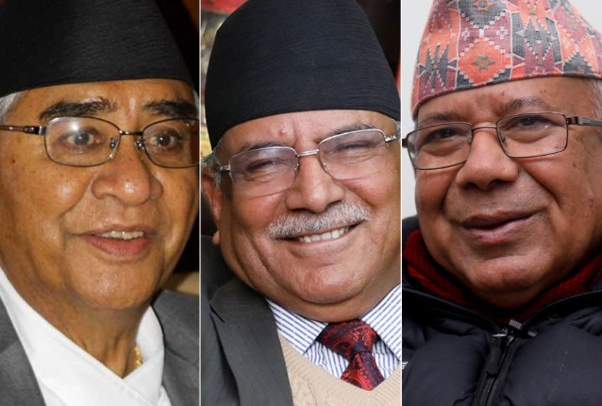 Meeting between Prime Minister Deuba, Prachanda and Madhav Nepal, discussion on the expansion of the Council of Ministers