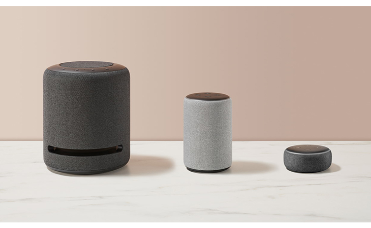 Amazon's smart speaker will automatically increase the volume when there is noise