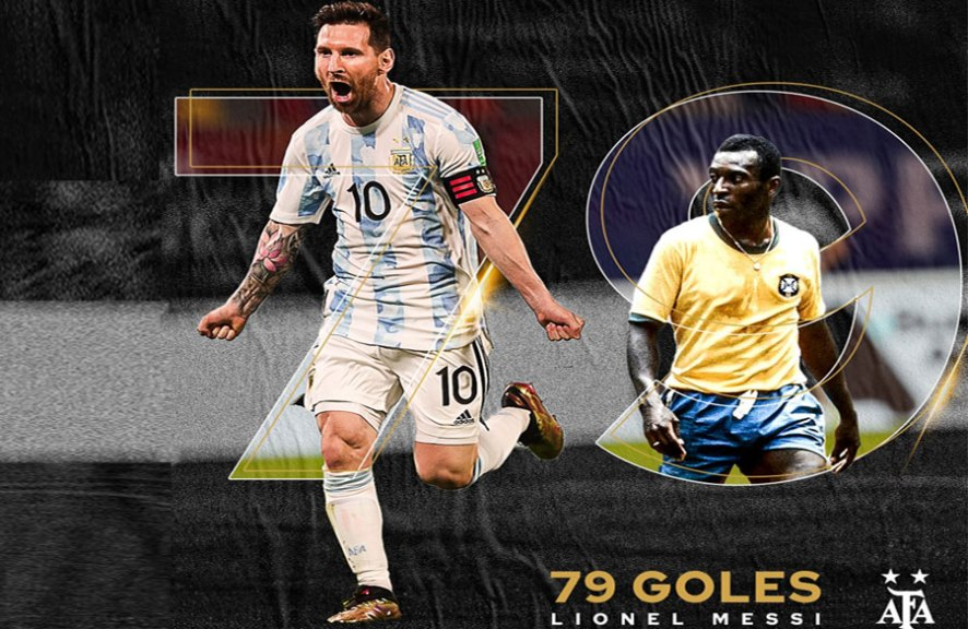 Messi breaks record after 50 years