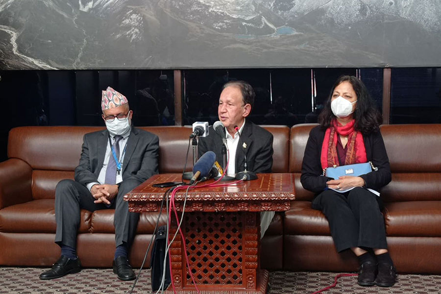 Foreign Minister returned home after attending the high level meeting of 'NAM'