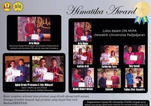 Himatika Award April 2015