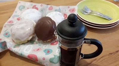 Neue Kaffeekanne testen
