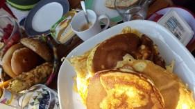 Pancake-Frühstück