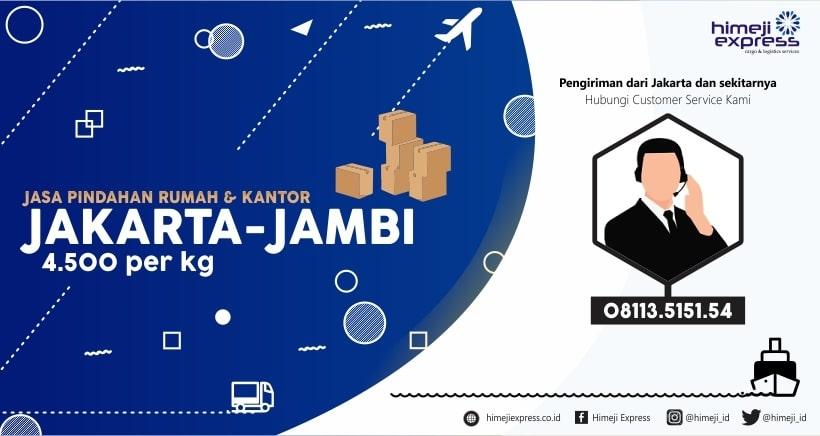 Jasa Pindahan Jakarta Jambi