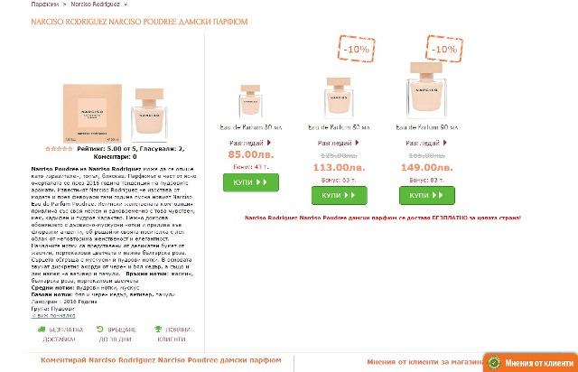 Портфолио – описания онлайн магазин