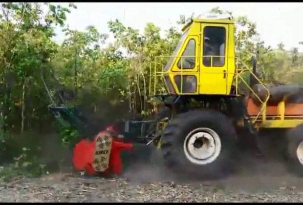 Triturador Florestal Himev Ecotritus HP240
