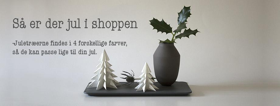 Hvide juletræer slide