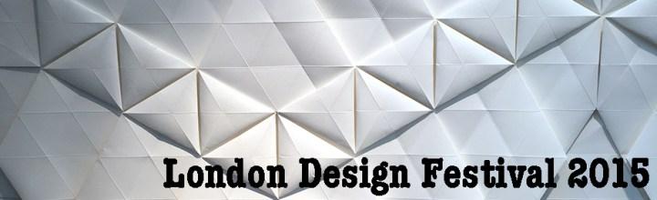#2 London Design Festival var fyldt med papir