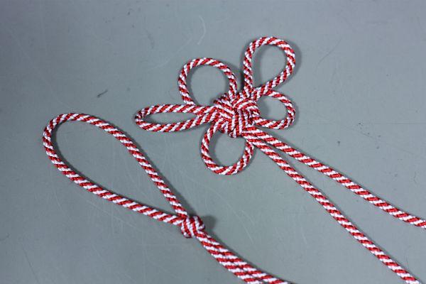 紅白紐の結び