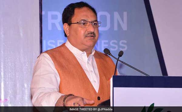 j-p-nadda speaking of development of Himachal Pradesh