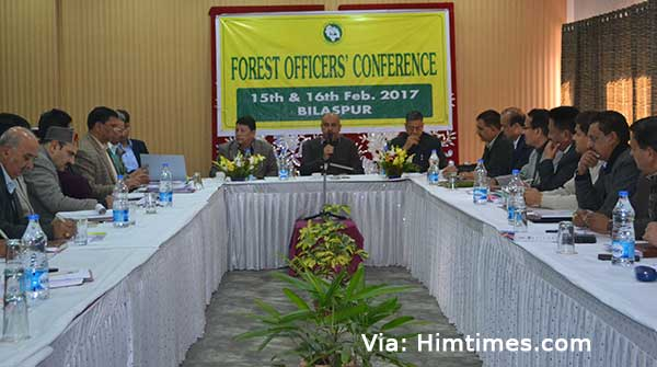 himachal-pradesh-forest-Officers-Conference