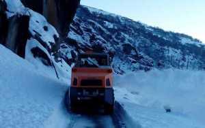 Lahaul-Spiti road