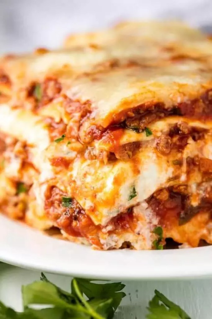 Easy Lasagna With Ricotta Cheese