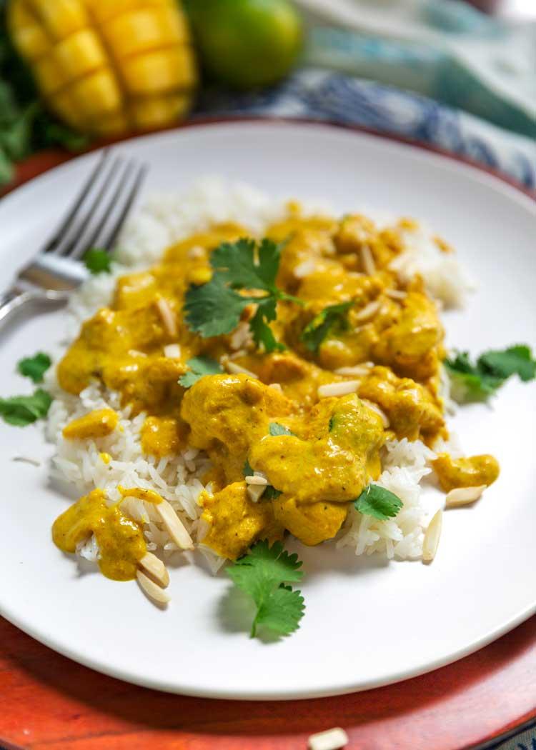 Best Indian Mango Chicken Curry Recipe