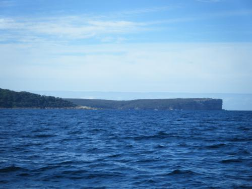 The aptly named Perpendicular Head at the entrance to Jervis Bay