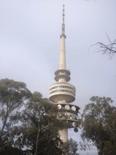 The Telstra Tower on Black Mountain