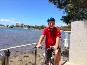 Cycling around the Maroochy River